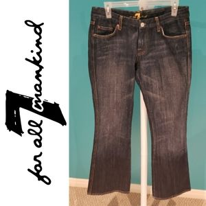 """7 For All Mankind """"A Pocket"""" Denim Jeans"""